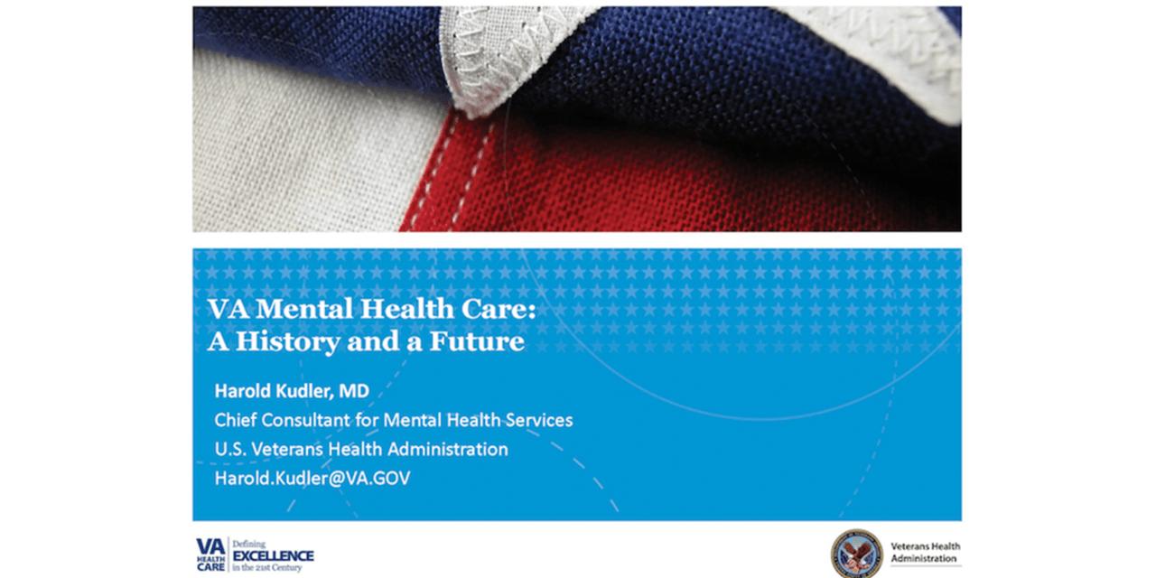 VA Mental Health Care: A History and a Future