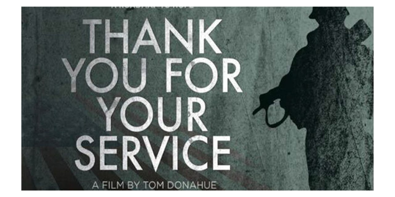 Screening of Thank You for Your Service on May 15
