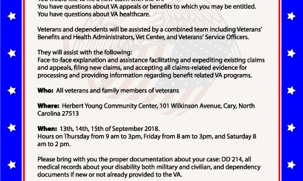 Veteran's Experience Action Center – Cary, NC