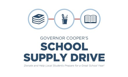 Governor Cooper's School Supply Donation Drive