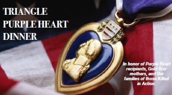 Triangle Purple Heart Dinner Sponsorships