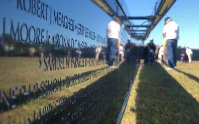 Vietnam Memorial Wall Coming Back To NC