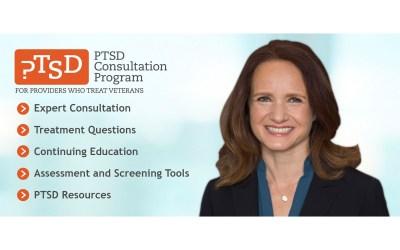 PTSD Consultation Program for Providers who Treat Veterans