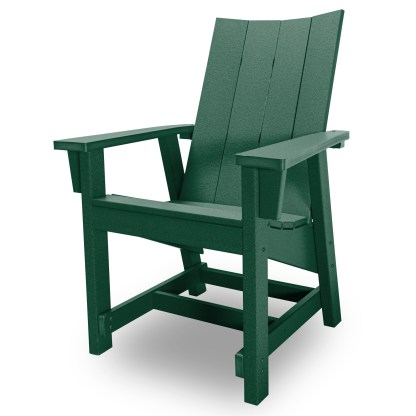 Hatteras Conversation Chair - Forest Green - HHCV1-K-FG