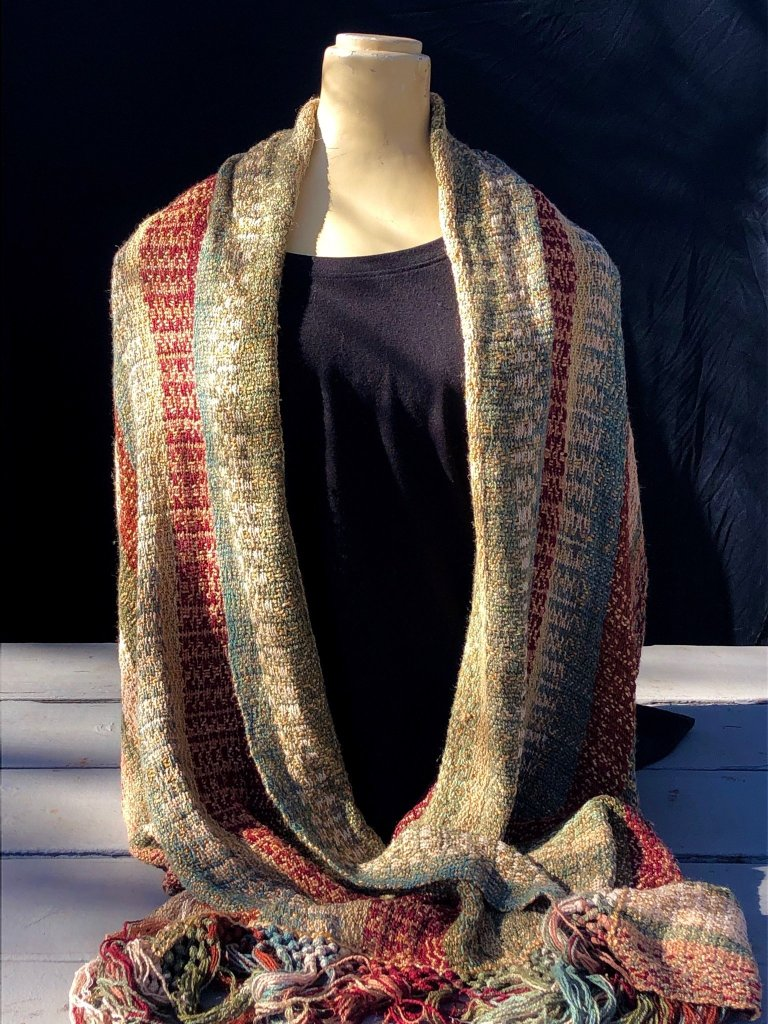 handwoven shawl for Bring Us Your Best in Hendersonville