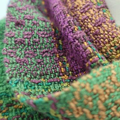 Infinity scarf-amethyst