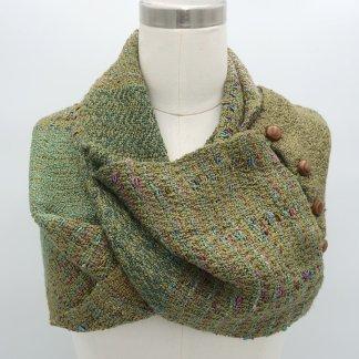 infinity scarf moss green