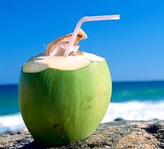 Combat thirst with coconut water