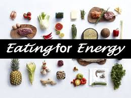 Sustaining high levels of energy is key to performance