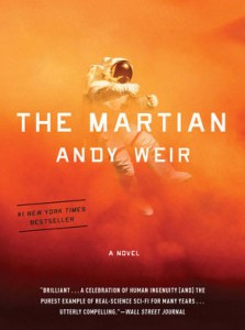 The Martian, by Andy Weir, follows an astronaut trapped by himself on Mars. Photo contributed by andyweirauthor.com