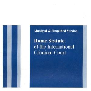 Rome Statute Abridged