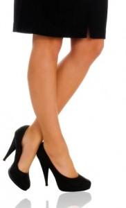 pantyhose legs bare Survey or