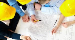 Building plans heads together