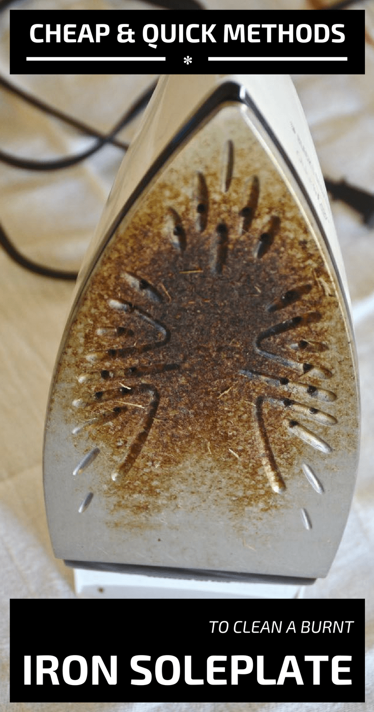 Cheap And Quick Methods To Clean A Burnt Iron Soleplate  nCleaningTipscom