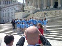 Senator Burr and Student Ambassadors - May 6, 2014 at US Capitol