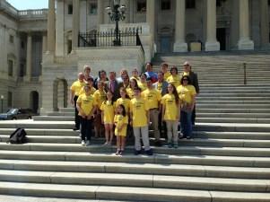 Senator Tillis and NCLA Delegation