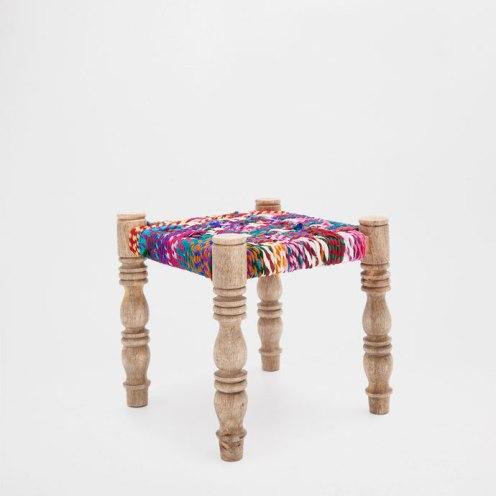 braided stool