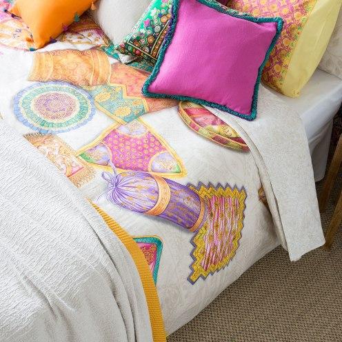 cushion print set zara