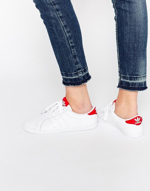 stan smiths red