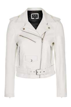 The centrepiece; nothing says S/S better than a white leather jacket