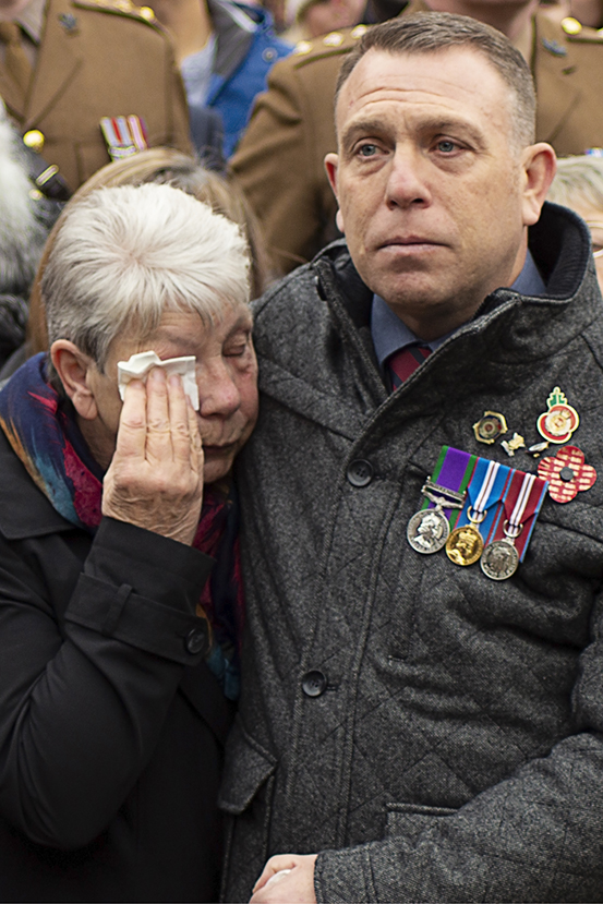 Megan Sharpe - MERIT Photojournalism - Tears for Heroes
