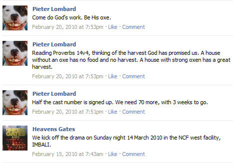 A Response to Pieter Lombard of New Covenant Fellowship (NCF)  (5/6)