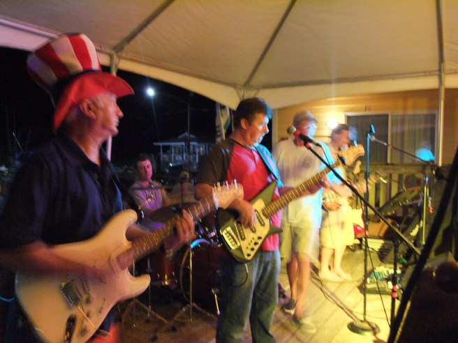 Saltwater Gold Band at Croacker Fest
