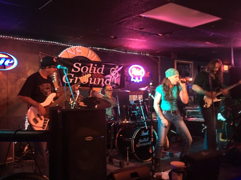 Solid Ground live at Jean's Place Hvelock, NC