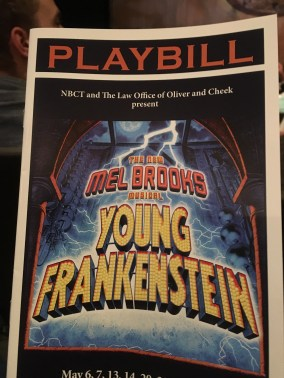 Young Frankenstein opened at The New Bern Civic Theater