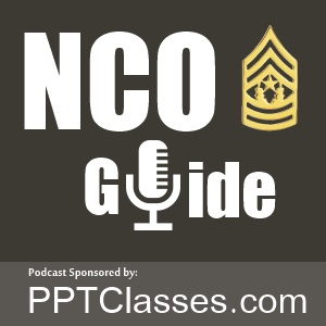 NCO Guide Podcast logo | 0-Alpha