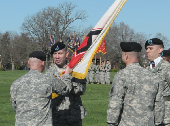 First Army Division East holds CSM Change of Responsibility Ceremony