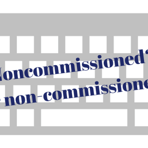 Non-Commissioned Officer vs. Noncommissioned Officer