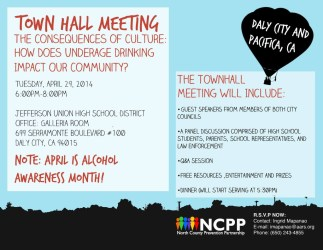 meeting hall town daly office announcement pacifica ncpp prevention district community union