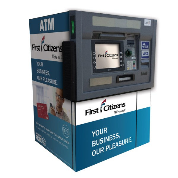 Ncr Selfserv 88 Sharkskin Atm Wrap - Year of Clean Water