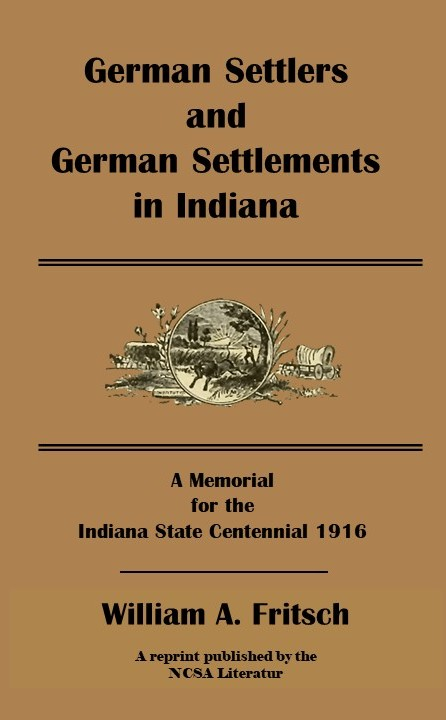 German Settlements in Indiana