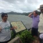 Herb Lee Jr at Historic Fishpond