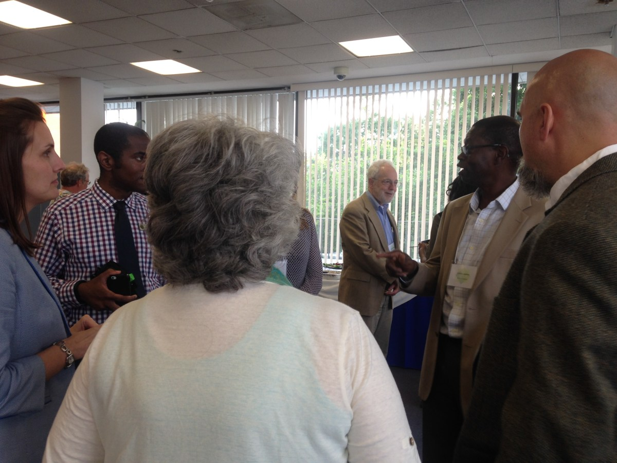 NCSCE Department Chairs Meeting Attendees Mingling During Reception