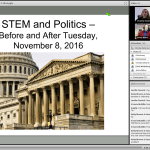 STEM and Politics - Before and After Tuesday, November 8, 2016