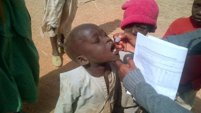 """The Fate of Polio: Eradication or Elimination?""  Photo: CDC/ Binta Bako Sule, Nigeria"