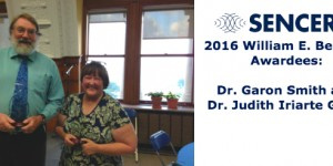 The 2016 William E. Bennett awardees are Drs. Garon Smith and Judith Iriarte-Gross. Click to read more about their achievements in the SENCER community.