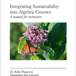 Integrating Sustainability into Algebra Courses
