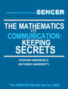 Mathematics of Communication Keeping Secrets Cover