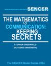 Mathematics of Communication Keeping Secrets Cover