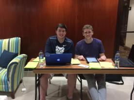 The dynamic IT duo of May 2017, Matt and Pat.