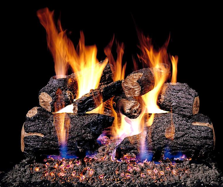 Gas Logs A Popular Option Adams Chimney Specialist Llc