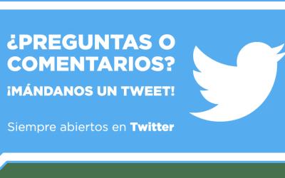 Siempre abiertos en Twitter