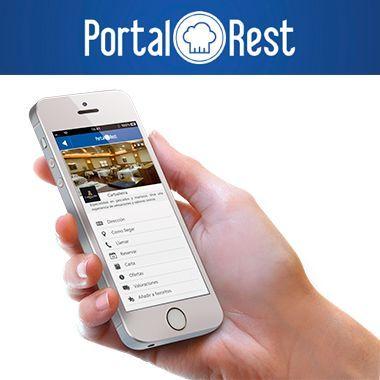PortalRest – Haz que tus clientes puedan reservar mesa las 24h del día