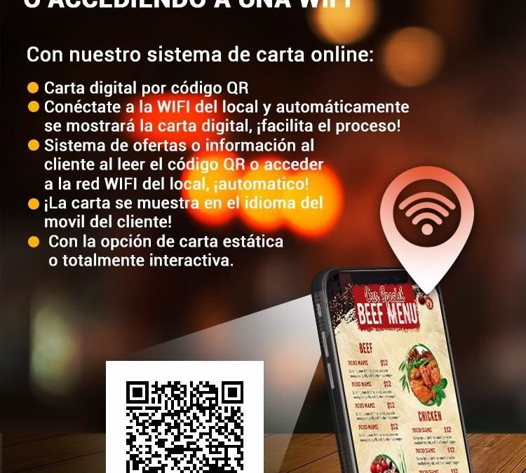 Carta online & Social Wifi