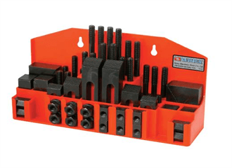 VERTEX 52 PCS Steel Clamping kit, CK Series