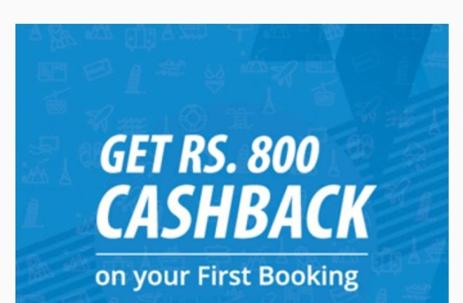 Easemytrip Offer - Get Rs.800 Cashback On Flight Ticket Booking Via Paypal